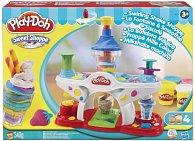 Play-Doh výroba zmrzlinových pohárů a nápojů