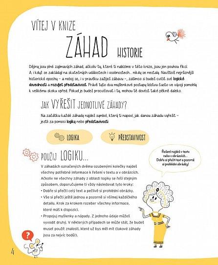 Náhled ZÁHADY - Zapoj mozkové závity a vyřeš 25 tajuplných případů