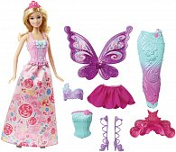 Barbie víla a pohádkové oblečky