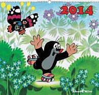 Kalendář 2014 - Krteček - nástěnný s prodlouženými zády