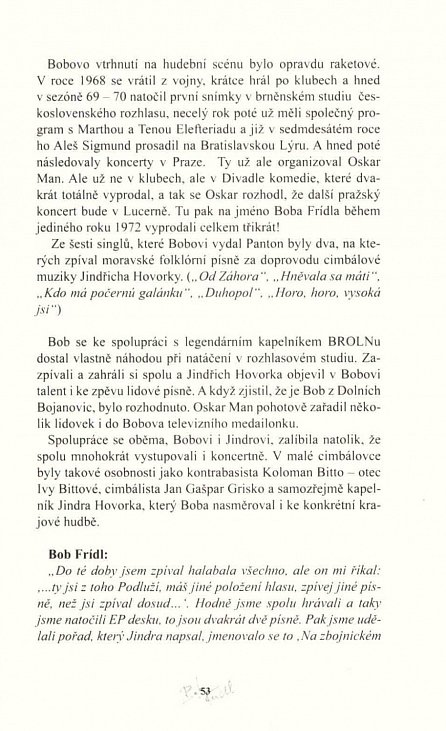 Náhled Bob Frídl - Potulný básník