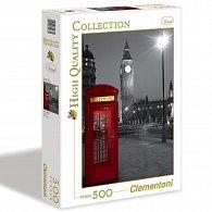 Puzzle 500 dílků Telefonní budka Londýn