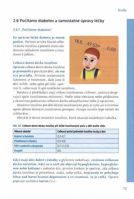 Náhled Péče o dítě s diabetem krok za krokem