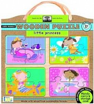 Little Princess Wooden Puzzle
