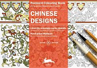 Chinese Designs Postcard Colouring Book