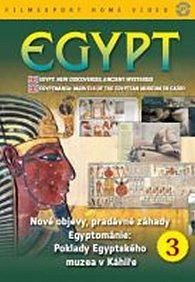 Egypt: Nové objevy, pradávné záhady 3. - DVD digipack