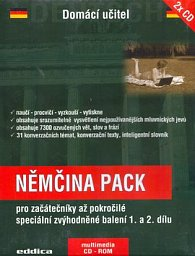 Němčina pack + 2 CD