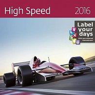 Kalendář nástěnný 2016 - High Speed