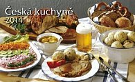 Česká kuchyně - Stolní kalendář 2014