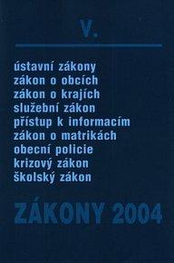 Zákony 2004/V