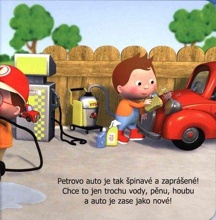 Náhled Malý chlapec - Petrovo auto