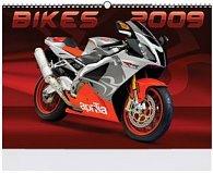 Motorky 2009 - nástěnný kalendář
