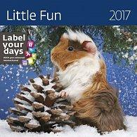Kalendář nástěnný 2017 - Little Fun