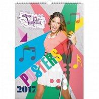 Kalendář nástěnný 2017 - Violetta/Plakáty