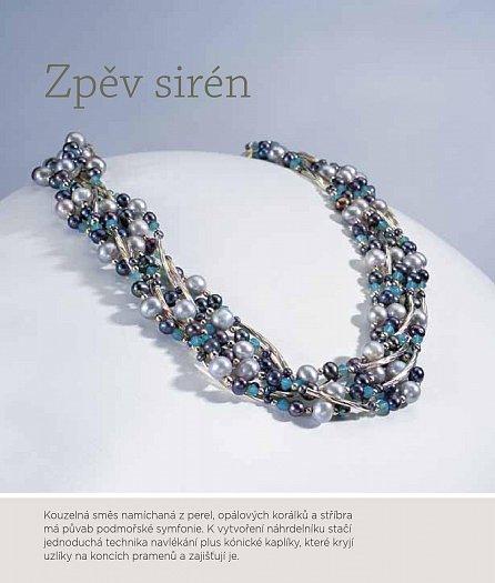 Náhled Půvabné šperky - V hlavní roli perly, navlékání snadnými technikami