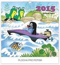 Kalendář 2015 - Krteček - nástěnný s prodlouženými zády