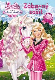 Barbie a Poníková akademia Zábavný zošit
