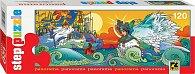 Puzzle 120 Panorama: Ruské pohádky - O caru Saltánovi