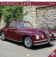 Kalendář 2014 - Classic Cars - nástěnný poznámkový (ČES, SLO, MAĎ, POL, RUS, ANG)