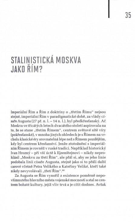Náhled Moskva, čtvrtý Řím - Stalinismus, kosmopolitanismus a vývoj sovětské kultury1931-1941