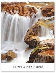 Kalendář 2015 - Voda Praktik - nástěnný s prodlouženými zády