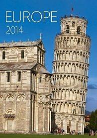 Kalendář 2014 - Europe - nástěnný