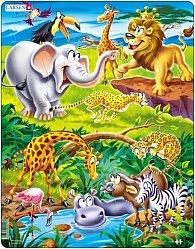 Puzzle MAXI - Safari/18 dílků
