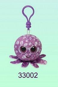 Plyš očka přívěšek chobotnice