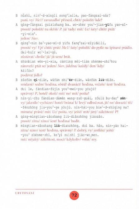Náhled Učebnice čínské konverzace II (učebnice+cvičení a slovníček)