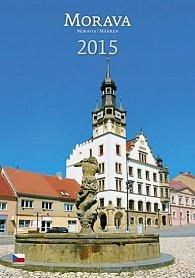Kalendář nástěnný 2015 - Morava
