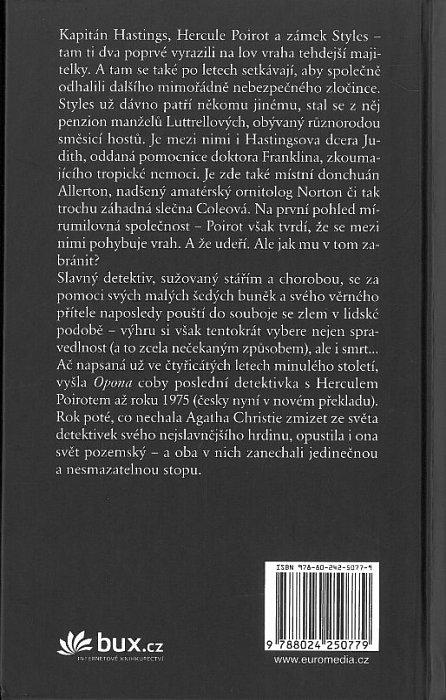 Náhled Opona: Poslední případ Hercula Poirota