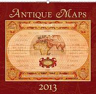 Kalendář 2013 nástěnný - Staré mapy, 48 x 46 cm