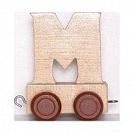 Vagónek-M-hnědá kolečka