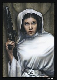 Star Wars Art Sleeves: Princess Leia