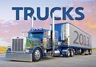 Kalendář nástěnný 2013 - Trucks