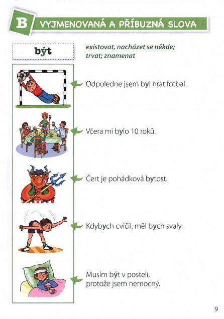 Náhled Sýkorčiny syrečky - obrázkový slovník vyjmenovaných a příbuzných slov