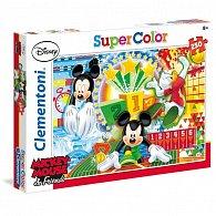 Puzzle Supercolor 250 dílků Mickey sport