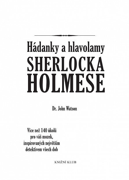 Náhled Hádanky a hlavolamy Sherlocka Holmese