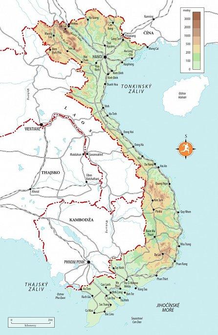 Náhled Vietnam - Turistický průvodce