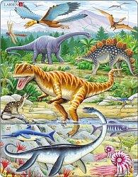 Puzzle MAXI - Dinosauři/35 dílků