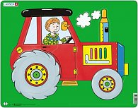 Puzzle MAXI - Sestav traktor/10 dílků