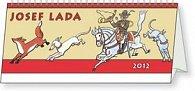 Kalendář stolní  2012 - Josef Lada - Pohádky, 33 x 12,5 cm