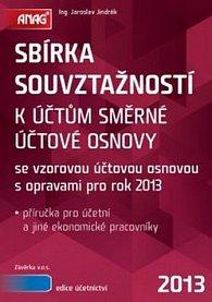 Sbírka souvztažností k účtům směrné účtové osnovy 2013