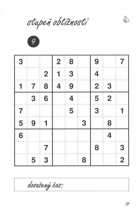 Náhled Sudoku do kapsy 4/2016 (červená)