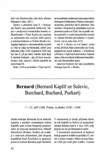 Náhled Čeští biskupové a arcibiskupové