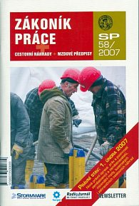 Zákoník práce SP58/2007 - cestovní náhrady + mzdové předpisy