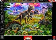 Puzzle Dinosauři na lovu 500 dílků