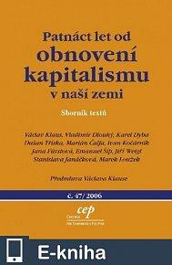 Patnáct let od obnovení kapitalismu v naší zemi (E-KNIHA)