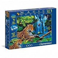 Puzzle Magic 3D 1000 dílků Jaguar jungle