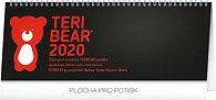 Kalendář stolní 2020 - Teribear, 33 × 12,5 cm